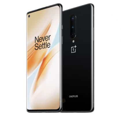 Oneplus 8 image front and back