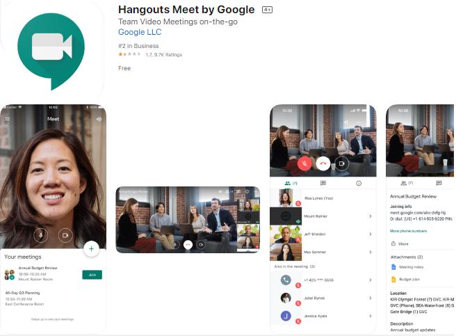 google meet app image