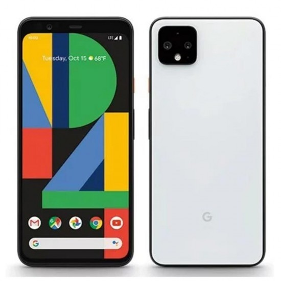 Google Pixel 4 XL front and back photo