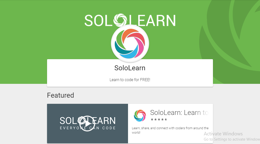 solo learn app description image