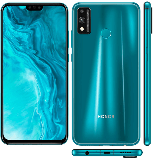 HONOR 9X Lite front back and sides image