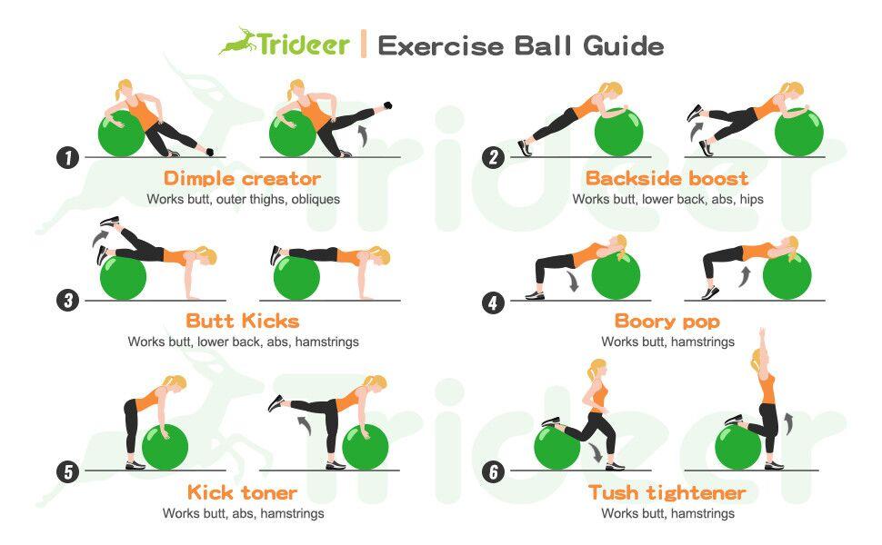 Exercise Ball Yoga Ball