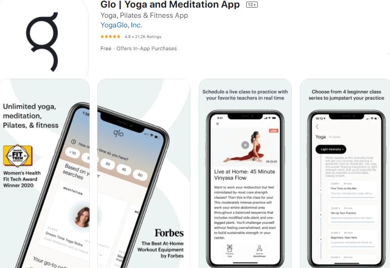 Glo Yoga and Meditation App