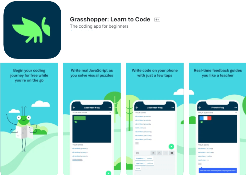grasshopper learn to code