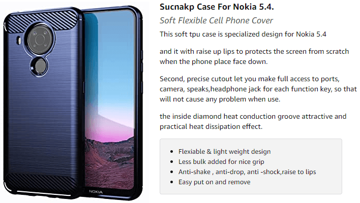 Case for Nokia 5.4