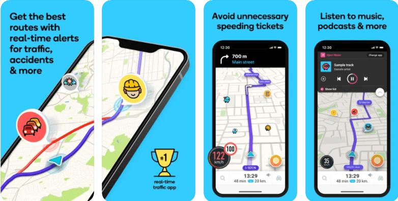 Waze Maps Navigation and Live Traffic