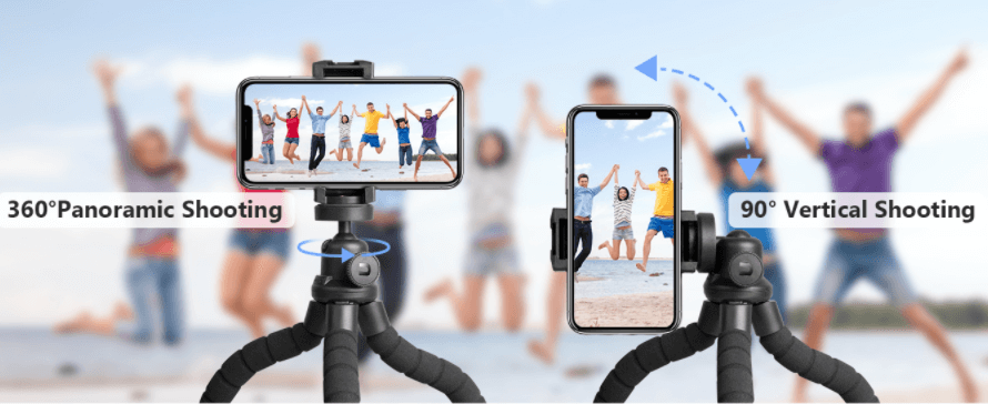 Cell Phone Tripod Stand for Video Recording