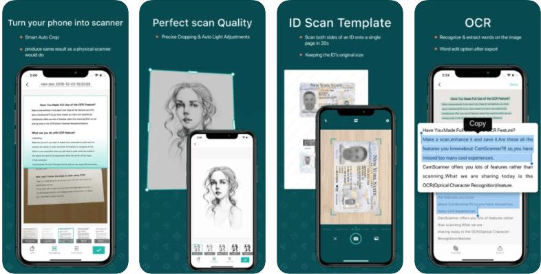 Cam Scanner PDF Scanner app