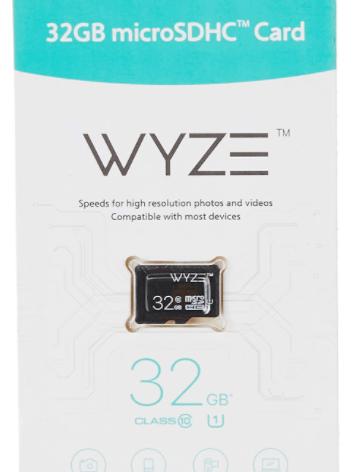Wyze Labs Expandable Storage 32GB