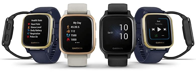 Garmin Venu Sq Music GPS Smartwatch