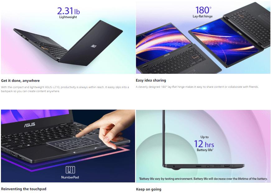 11.6 inch Ultra Thin Laptop