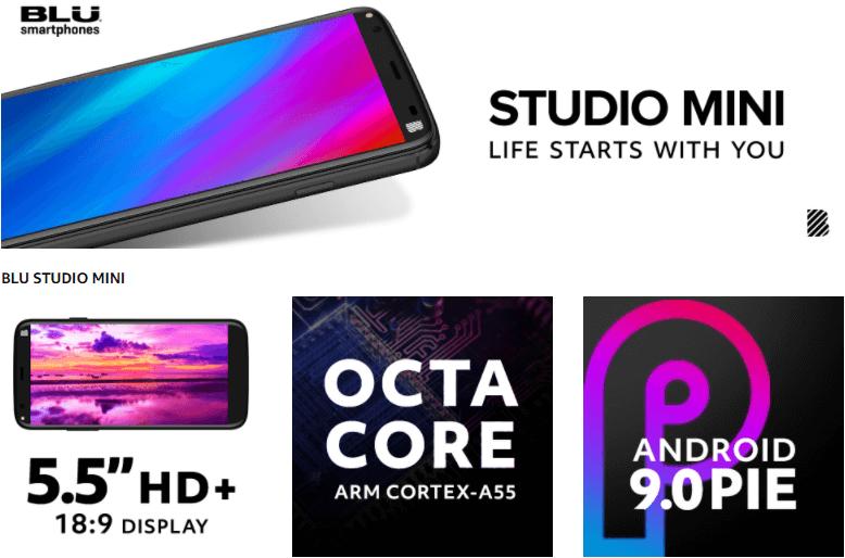 BLU Studio Mini Smartphone