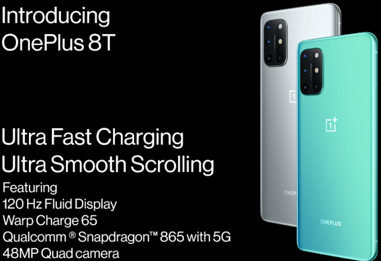 OnePlus 8T Android Phone