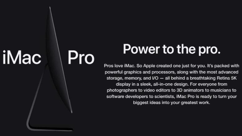 Apple iMac Pro 27-inch