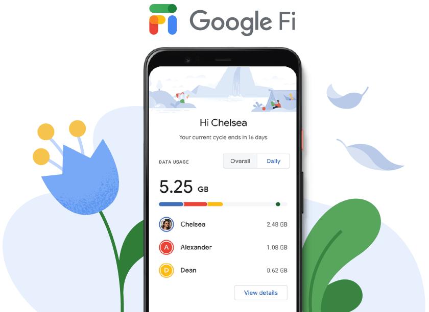 Google Fi SIM Card Kit