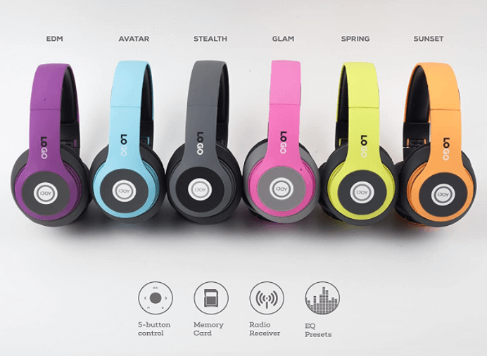 Foldable Headset with Mic