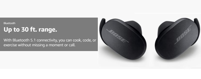 bose quietcomfort wireless earbuds