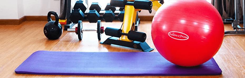Yoga Ball for Workout BalanceFrom Anti-Burst Exercise Ball