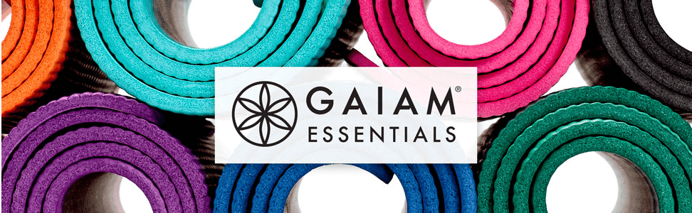 Gaiam Thick Yoga Mat Fitness and Exercise Mat