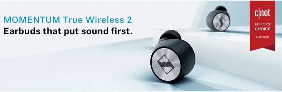 SENNHEISER Momentum Wireless EarBuds