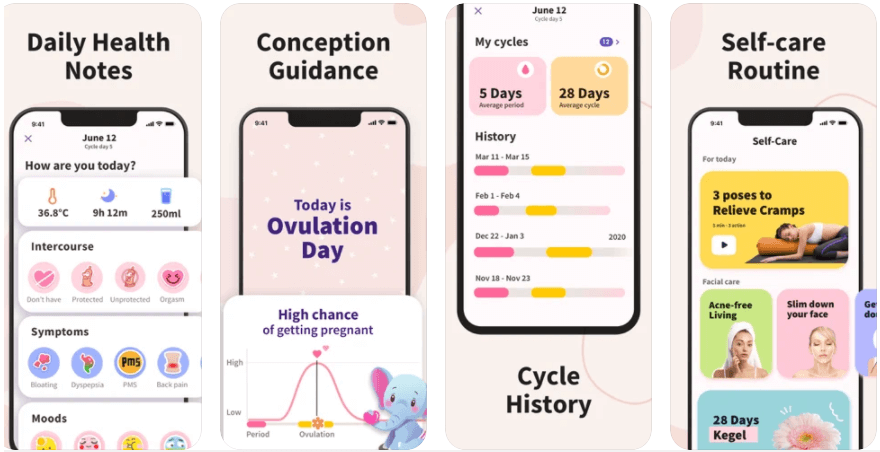 Period Tracker App and Best Health Apps for Women