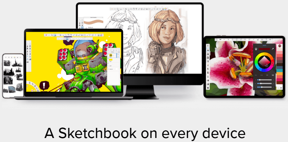 Drawing and Painting App for Artists