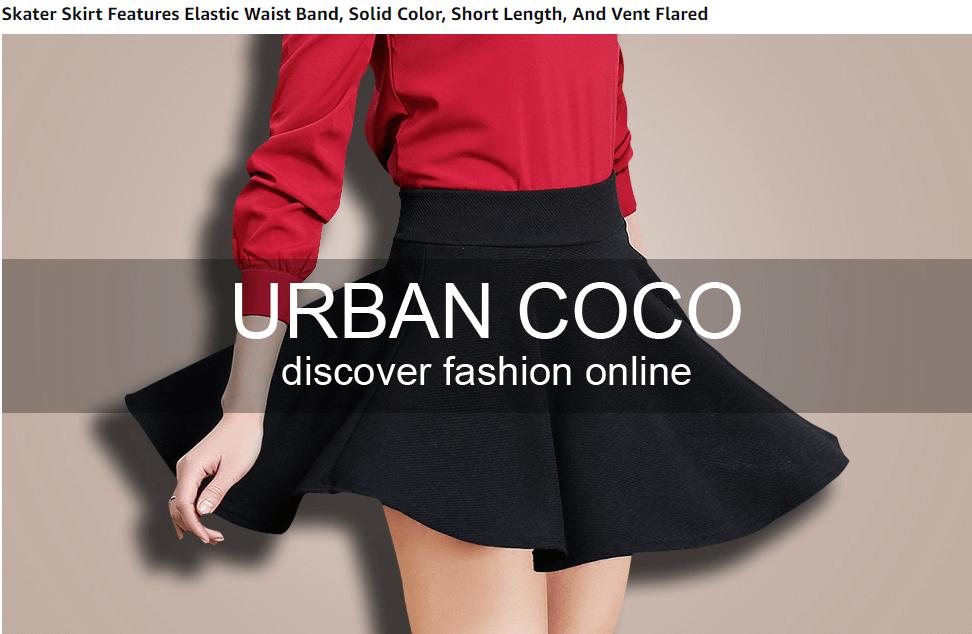 Urban CoCo Mini Skater Skirt