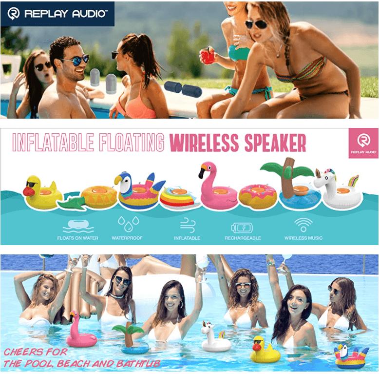 Wireless Floating Speaker Pool Party