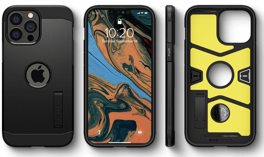 Spigen Tough Armor Designed Apple iPhone 13 Pro Case