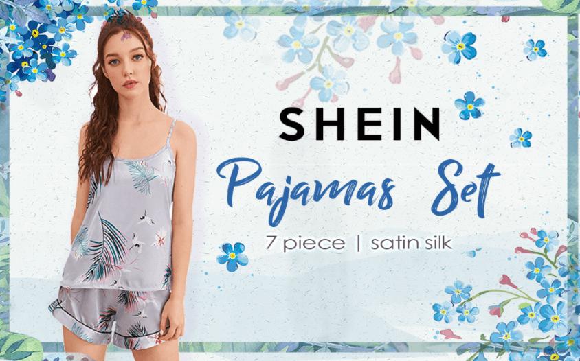 SheIn 7pcs Pajama Set for Women