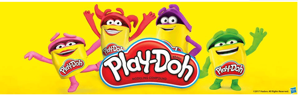 Play-Doh Modeling Compound for Art Craft Multi-Color 24-Pack
