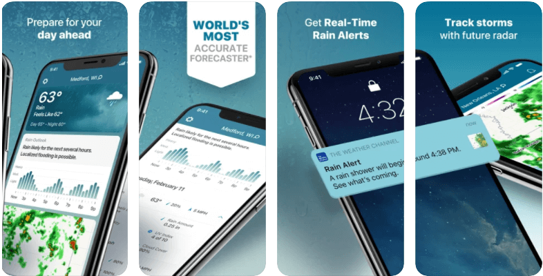 The Weather Channel App Best Weather App for Android for iOS